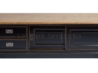 LeHome Interiors Living roomTV stands & cabinets Wood Black