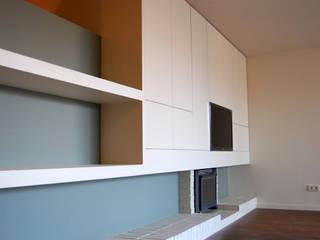 Salas de estilo moderno de Teresa Pinto Ribeiro | Arquitectura & Interiores Moderno