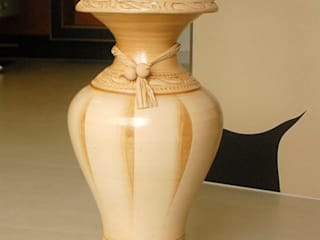 Edle Bodenvasen, Portugisische Bodenvase, Amphore Deko Shop Hannusch WohnzimmerAccessoires und Dekoration Tonwaren Beige