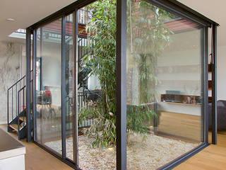 VILLA DE WAARD MENSINK, Ijburg, Amsterdam KENK Architecten Moderne ramen & deuren van KENK architecten Modern