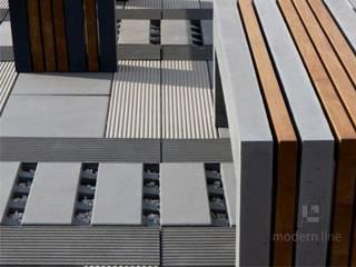 Płyta ecoSolid: styl , w kategorii  zaprojektowany przez Modern Line