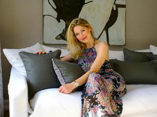 Die Gründerin Stephanie Schäfer von Aurata-Design:   von Aurata-Design