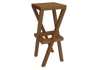 slant-legged bar stool:   von Laszlo Rozsnoki