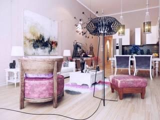 Private residence: Salon de style  par Cd'A