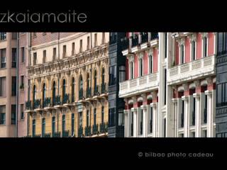 Fotografia exclusiva para vinilos de pared. Bodegas de estilo moderno de Bilbaophotocadeau. Moderno