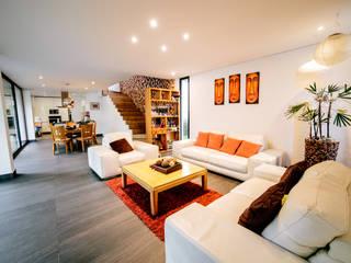 Salas / recibidores de estilo  por gOO Arquitectos