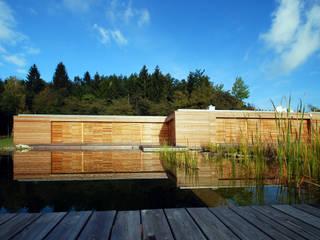 Holzhaus Minimalistische Häuser von Architekt Zoran Bodrozic Minimalistisch