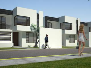 Conjunto Residencial Zina Casas modernas de Arquitectura Libre Moderno