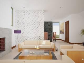 Conjunto Residencial Zina de Arquitectura Libre Moderno