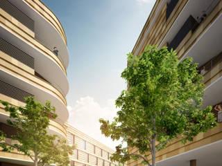 Casas de estilo moderno de Pia Janzen Moderno