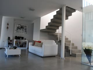Casa en Manatiales - Casa del músico Livings modernos: Ideas, imágenes y decoración de barqs bisio arquitectos Moderno