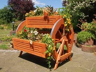 Blumentreppen, Pflanz - Treppen für Blumen Deko Shop Hannusch Balkon, Veranda & TerrassePflanzen und Blumen Holz