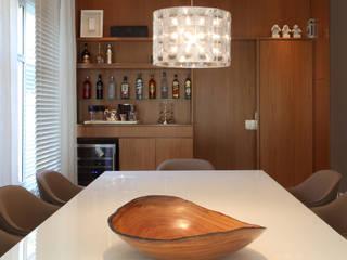 Moderne Esszimmer von MF Arquitetos Modern