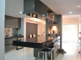 Projekty,  Kuchnia zaprojektowane przez Escala Veinte