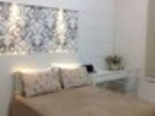 Projeto de Interiores Quartos ecléticos por Rodrigues&Coutinho Projetos, Engenharia e Decoração Eclético
