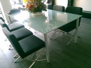 VIVAinteriores Living room Glass White