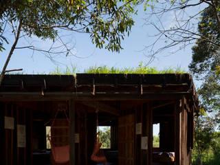 Salon rural par IR arquitectura Rural Bois massif Multicolore