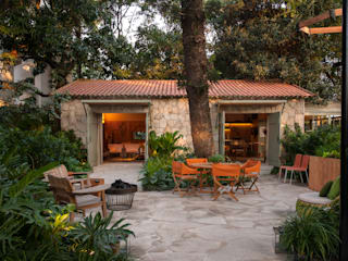 Marina Linhares Decoração de Interiores Jardins tropicais