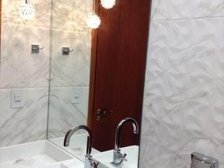 Projeto de Interiores Banheiros modernos por Rodrigues&Coutinho Projetos, Engenharia e Decoração Moderno