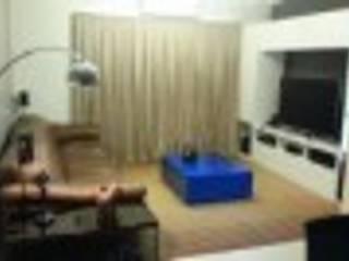 Projeto de Interiores Salas de estar modernas por Rodrigues&Coutinho Projetos, Engenharia e Decoração Moderno