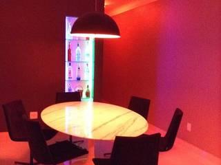 Projeto de Interiores Salas de jantar modernas por Rodrigues&Coutinho Projetos, Engenharia e Decoração Moderno