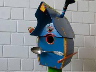 Upcycling-Vogelhaus von werkstatt+atelier petra hemmers Ausgefallen