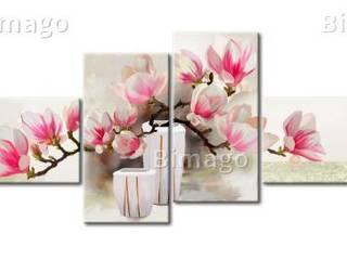 Bild auf Leinwand Duft von Magnolien:   von Bimago
