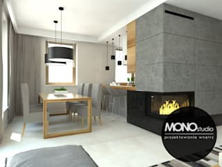 Modern dining room by MONOstudio Modern