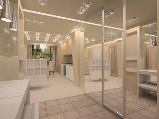 Прихожие Коридор, прихожая и лестница в эклектичном стиле от ООО ПрофЭксклюзив Студия дизайна интерьеров Эклектичный