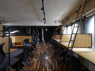 ARS OFFICE: LINEs AND ANGLEs inc.が手掛けた書斎です。,インダストリアル