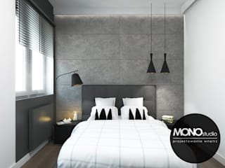 Modern style bedroom by MONOstudio Modern