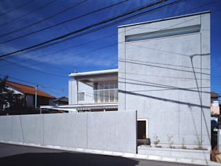 Houses by 新野裕之建築設計 Hiroyuki Niino Architecture