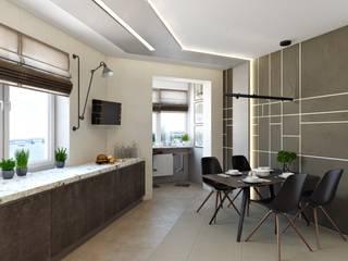 СВЕТЛАНА АГАПОВА ДИЗАЙН ИНТЕРЬЕРА Minimalist kitchen
