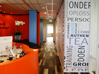 Kantoor Utrecht:  Kantoor- & winkelruimten door CG Interior Architecture