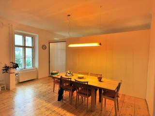 Phòng ăn phong cách tối giản bởi allmermacke Tối giản