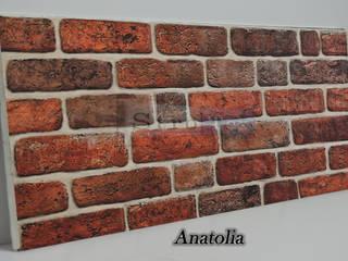 Delle Dekoratif Yapı Ürünleri San. Tic. Ltd. Şti. Стіни & ПідлогиНастінні та підлогові покриття Дерево-пластичний композит