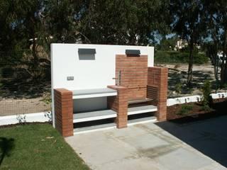 Grelhador: Casas modernas por Pardal Monteiro Arquitetos, lda