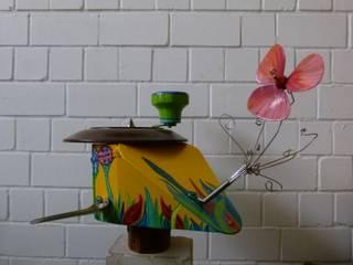 Upcycling-Vogelhaus:   von werkstatt+atelier petra hemmers