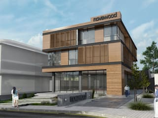 Studio Vertebra – Norawood Ofisleri:  tarz Evler
