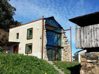 Reforma Vivienda Unifamiliar: Casas de estilo  de Tagarro-De Miguel Arquitectos, Moderno