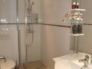 réaménagement d'une petite salle de bains par 2mj agencement