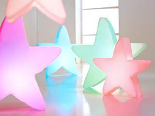 Sanftes Licht und geschmackvolle Farben: die LUMENIO LED Sterne:   von LUMENIO