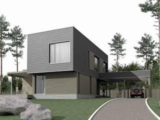 Дом на Ладоге: Дома в . Автор – Архитектурное бюро 'КУБИКУЛА'