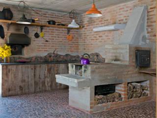 Cozinha: Cozinhas  por Carlos Bratke Arquiteto ,Rústico