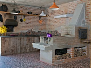 Kitchen by Carlos Bratke Arquiteto , Rustic