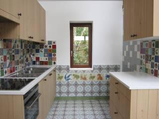 Cocinas de estilo rural de Den Ouden Tegel Rural Azulejos