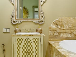 The Flat in Historical Building on Tsvetnoy Boulevard in Moscow Classic style bathroom by Olga Kulikovskaia-Ashby Classic