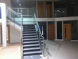 Our Work Modern commercial spaces by Mezz Floors UK Modern
