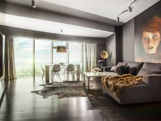APARTMENT 1 Livings de estilo moderno de 2kul INTERIOR DESIGN Moderno