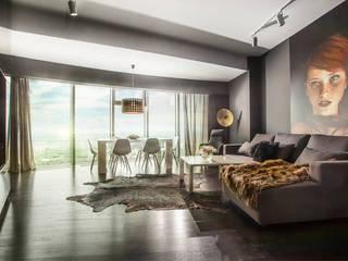 APARTMENT 1 Modern Living Room by 2kul INTERIOR DESIGN Modern